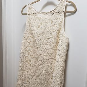 The Limited Crochet dress